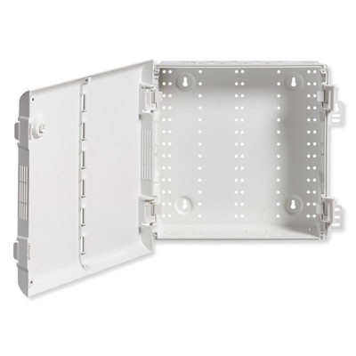 Leviton Wireless Structured Media Enclosure with Vented Hinged Door, 14 Inch