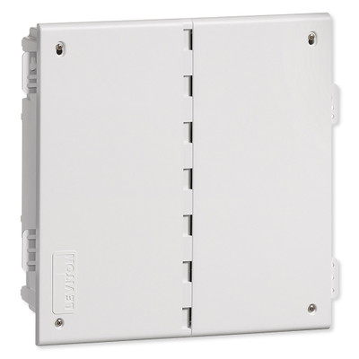 Leviton Plastic Wireless Structured Media Enclosure With Vented Cover, 14 Inch