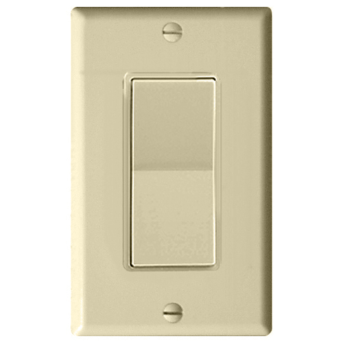 Leviton Decora Plus Wall Switch for Window Motors, Momentary Contact, Ivory
