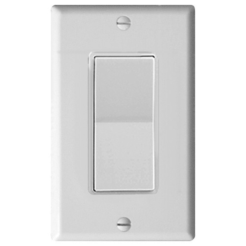 Leviton Decora Plus Wall Switch for Window Motors, Momentary Contact, White