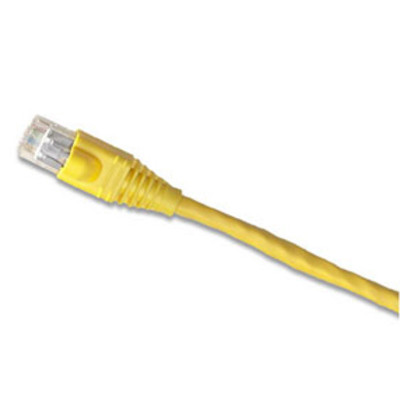 Leviton Cat5e Patch Cable, 3 Ft., Yellow