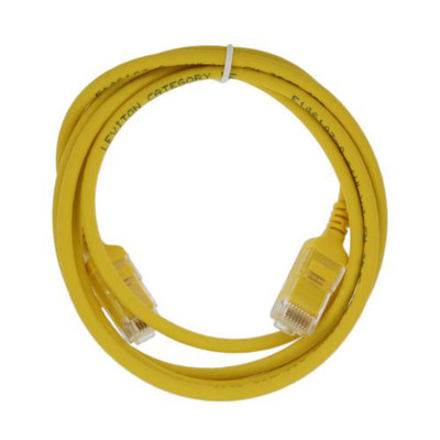 Leviton Ultra High Flex HOME Cat5e Patch Cable, 4 Ft., Yellow