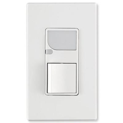 Leviton Decora Combination Wall Switch (LED Guide Light & Switch), White
