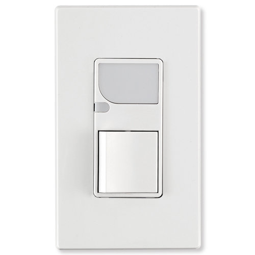 Leviton Decora Combination Wall Switch (LED Guide Light & Switch), White