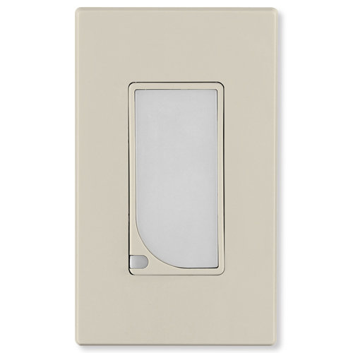 Leviton Decora Full LED Guide Light, Light Almond