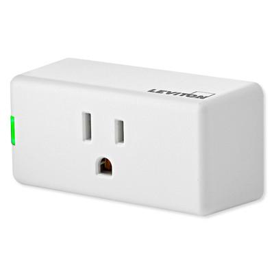 Leviton Decora Smart Wi-Fi Mini Plug-In Switch (2nd Gen)
