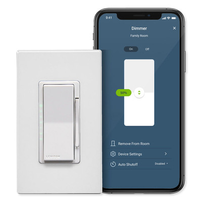 Leviton Decora Smart Wi-Fi 600W Dimmer (2nd Gen)