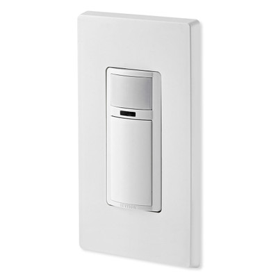 Leviton Decora Motion Sensor In-Wall Switch, Auto-On, 2A, Single Pole