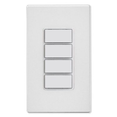 Leviton Decora Smart Wi-Fi Controller, 4 Button, White