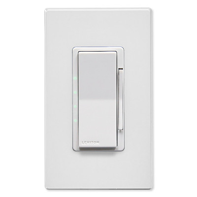 Leviton Decora Smart Wi-Fi 4-Speed Fan Controller, White