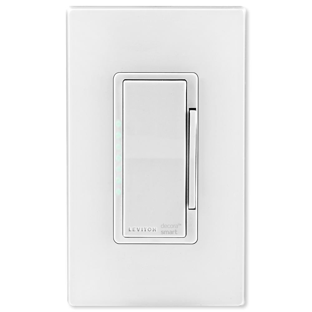 Leviton Dw6hd-1bz Decora Smart Wi-fi 600w Universal Led ...