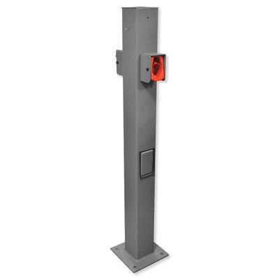 Leviton Evr-Green EVSE Pedestal Mounting Pole and Base