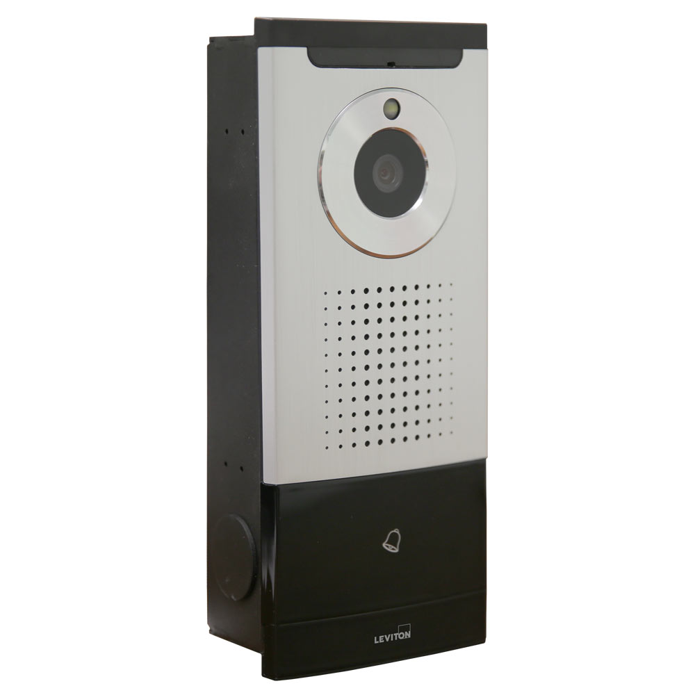 Leviton intercom door station for Front door video intercom
