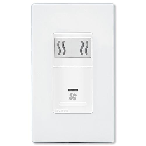 Humidity Controlled Bathroom Fan: Leviton Humidity Sensor & Fan Wall Controller