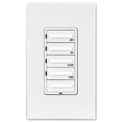 Leviton Decora Preset Countdown Timer Wall Switch, 2 Hr