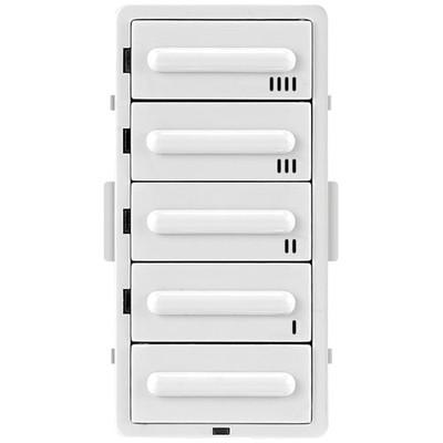 Leviton Countdown Timer 5-Button Color Change Kit, White