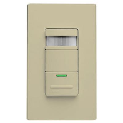 Leviton Wall Switch Occupancy Sensor, Self-Adjusting, 1800W/120V, Ivory