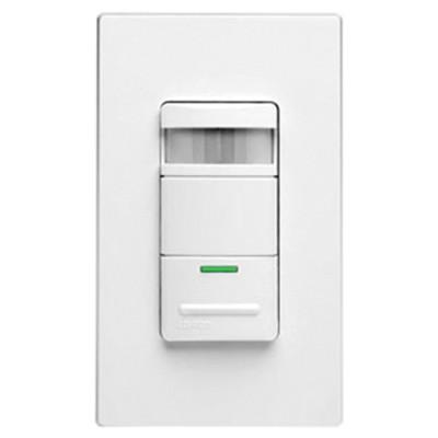 Leviton Wall Switch Occupancy Sensor, Self-Adjusting, 1800W/120V, White