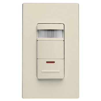 leviton wall switch occupancy sensor with led nightlight light almond. Black Bedroom Furniture Sets. Home Design Ideas
