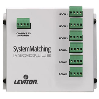 Leviton System Matching Module with Surge Protection, 1x6