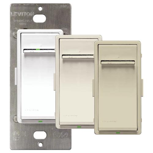 Leviton Vizia + Non-RF Matching Dimmer Remote Switch, 120VAC