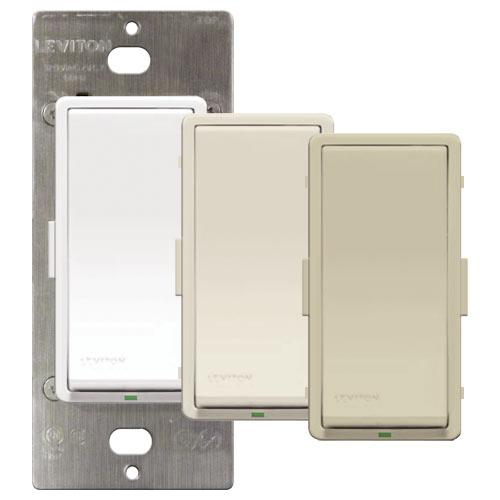 Leviton Vizia + Non-RF Matching Remote Switch, 120VAC