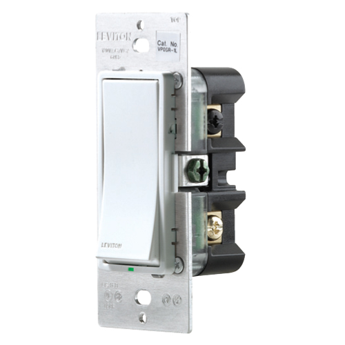 Leviton Vizia + Electronic On/Off Wall Switch
