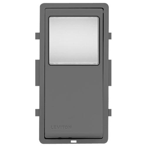 Leviton Vizia + 24 Hour Programmable Timer Color Change Kit, Gray
