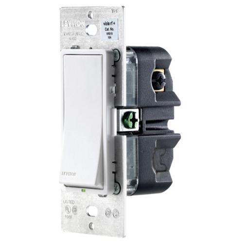 Leviton Vizia RF + Z-Wave 1-Button Scene Wall Controller/Virtual Switch Remote