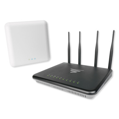 Luxul Wireless Router Kit, Includes (1) Epic 3, (1) XAP-1610 and (1) PoE Injector