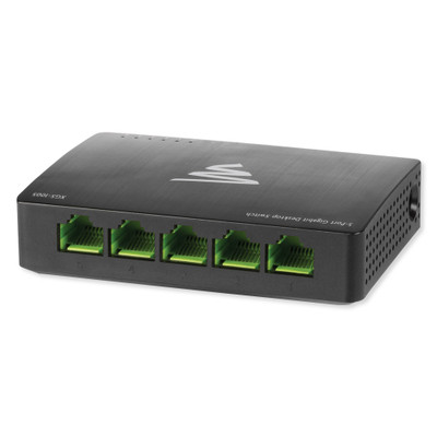 Luxul 5-Port Desktop Gigabit Ethernet Switch, 10 Gbps Switching Capacity