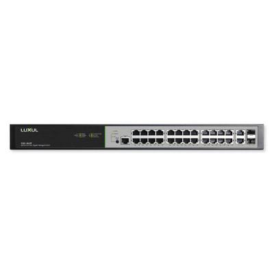 Luxul 26 Port/24 PoE+ Gigabit Managed Switch