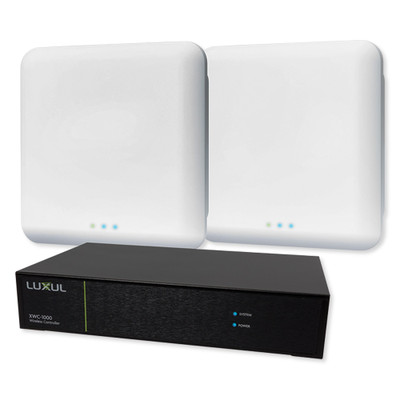 Luxul Wireless Controller Kit- Contains (1) XWC-1000, (2) XAP-1610 APs, and (2) PoE injectors