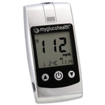 MyGlucoHealth Blood Glucose Meter, Wired Kit