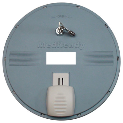 MedReady Replacement Top with Door & Lock, 2 Keys