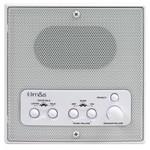 M&S Systems DMC Intercom Room Station, Remote Scan, Master Volume, White