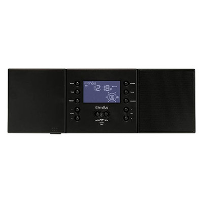 M&S Systems DMC3-4 Music & Intercom System Master Station, Retrofit, Black