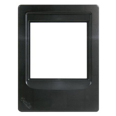 M&S Systems DMC Intercom Room Station Retrofit Mounting Frame, Black