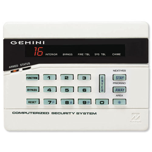 napco gemini gemk3dgtl digital keypad rh homecontrols com napco gemini 3200 user manual napco gemini 3200 installation manual