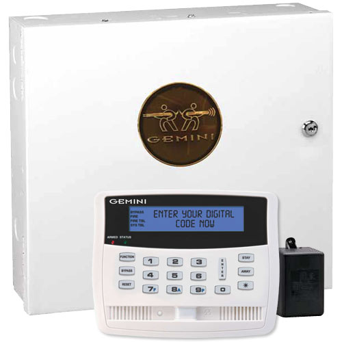 Napco Gemini P1664 Security System Kit with GEM-K1VPS Talking Keypad