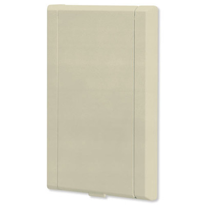 NuTone Central Vacuum 330 Series Automatic On/Off Wall Inlet, Ivory