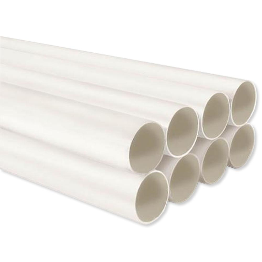 NuTone Central Vac PVC Tubing, 8 Ft. (8 Pack)
