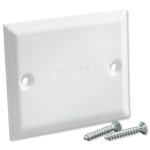 Nutone Central Vac Blank Cover Plate