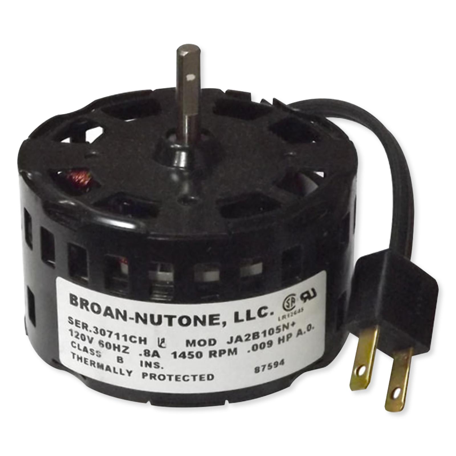 Nutone replacement fan motor for model 671r for Nutone ls80 replacement motor