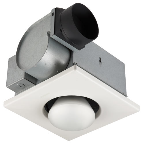 NuTone Single Bulb Heat 70 CFM, 3.5 Sones Exhaust Fan (Retrofit)