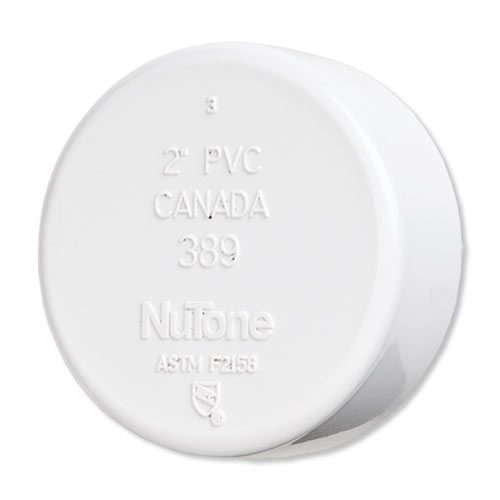 NuTone Central Vacuum End Cap Fitting
