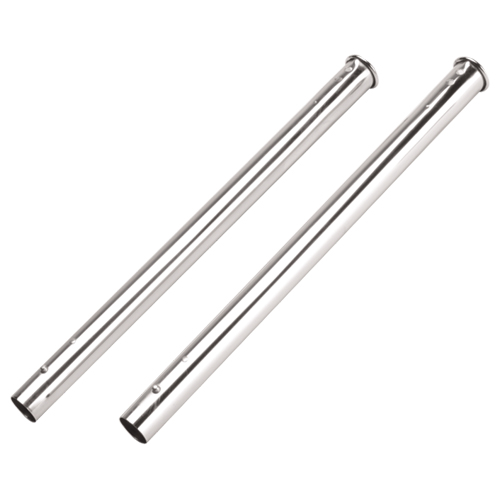 NuTone Central Vacuum Chrome Button Lock Wands (2 Pack)