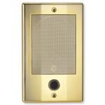 NuTone NM Intercom Door Speaker, Bright Brass (Open Box)