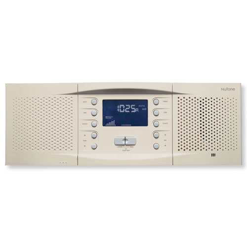 NuTone NM200 Music & Intercom System Master Station, Almond