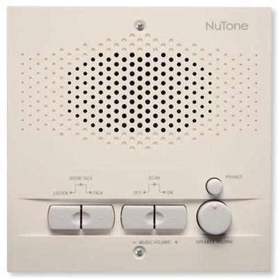 NuTone NM200 Intercom Indoor Remote Station, Almond